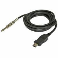 Bespeco USB gitárkábel USB-Jack