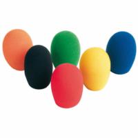 Bespeco mikrofonszivacs, színes, 6db-os csomag