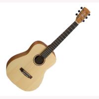 Cort mini akusztikus gitár, tokkal, natúr