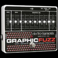 Electro-harmonix effektpedál Graphic Fuzz multifunkciós