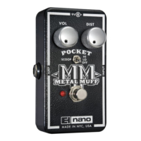 Electro-harmonix effektpedál Nano Pocket Metal Muff