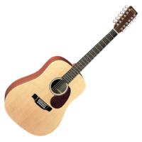 Martin akusztikus gitár, 12 húros, elektronikával