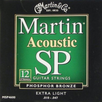 Martin húr - 12-húros akusztikus, foszfor-bronz, 10-47