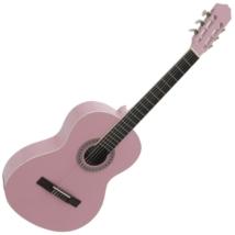 Dimavery - AC-303 Klasszikus gitár rózsaszín