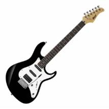 Cort - G220-BK elektromos gitár fekete ajándék puhatok