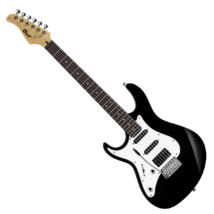 Cort - G220LH-BK balkezes elektromos gitár fekete