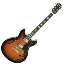 Dimavery - SA-610 Jazz gitár sunburst