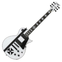 LTD - Iron Cross James Hetfield Signature Modell fehér