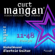 Curt Mangan - Nickel Wound 11-48 Elektromos Gitárhúr készlet