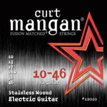 Curt Mangan - Stainless Steel 10-46 Elektromos Gitárhúr készlet