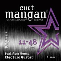 Curt Mangan - Stainless Steel 11-48 Elektromos Gitárhúr készlet