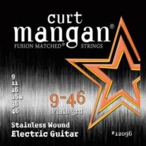 Curt Mangan - Stainless Steel 9-46 Elektromos Gitárhúr készlet