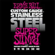 Ernie Ball - Stainless Steel Super Slinky 9-42 Elektromos Gitárhúr készlet