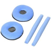 Zomo fülpárna Sennheiser HD-25-höz fejpárnával kék velúr