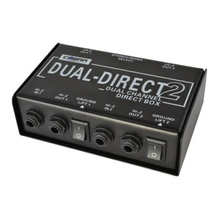 Cobra - Dual Passive DI Box