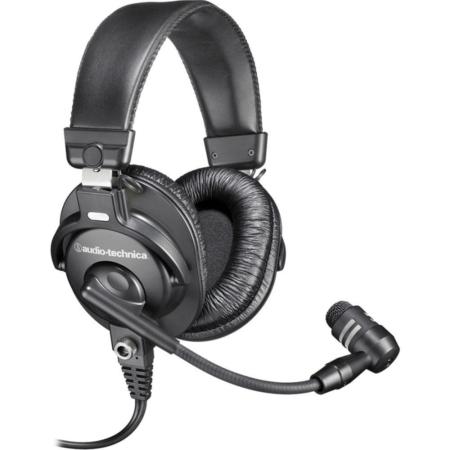 Audio Technica - BPHS1 broadcast sztereó mikrofonos fejhallgató