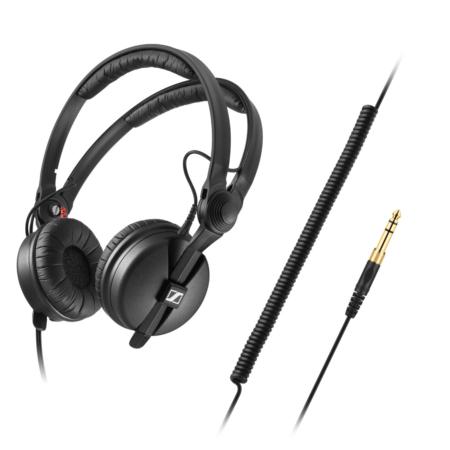 Sennheiser - HD 25 plus fejhallgató féloldalról
