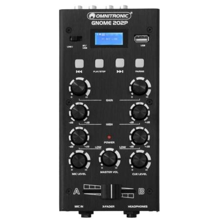 OMNITRONIC - GNOME-202P Mini Mixer black
