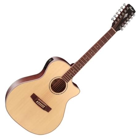 Cort - GA-MEDX-12-OP 12-húros akusztikus gitár elektronikával natúr