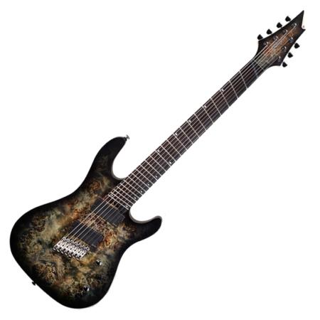 Cort - KX500MS-SDB 7 húros multiscale elektromos gitár fekete