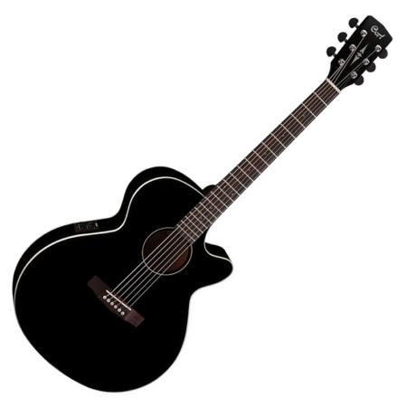 Cort - SFX1F-BK EA. OOO Western gitár elektronikával fekete