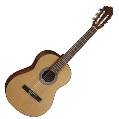 Cort - AC70 OP 3/4-es klasszikus gitár matt natúr tokkal