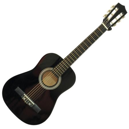 Dimavery - AC-303 1/2-es klasszikus gitár fekete színben