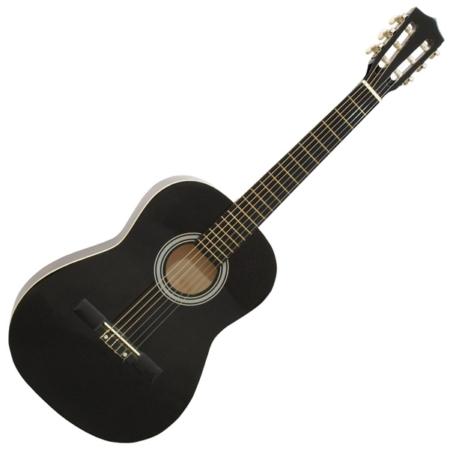 Dimavery - AC-303 3/4-es klasszikus gitár fekete színben