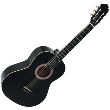 Dimavery - AC-303 Klasszikus gitár fekete színben