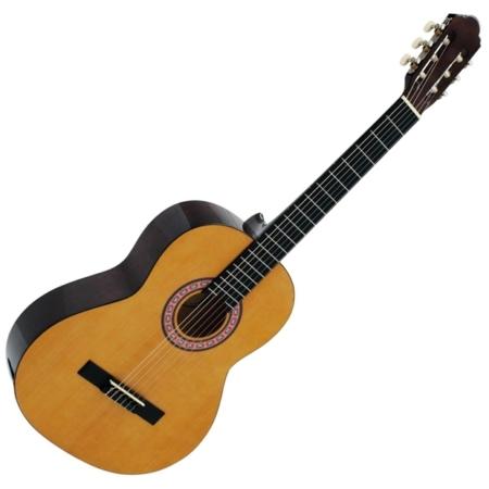 Dimavery - AC-303 Klasszikus gitár juhar színben