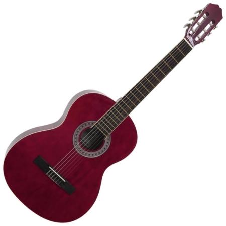 Dimavery - AC-303 Klasszikus gitár vörös színben