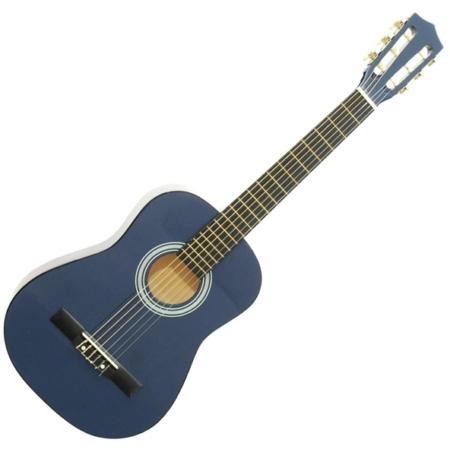 Dimavery - AC-303 1/2-es klasszikus gitár kék színben