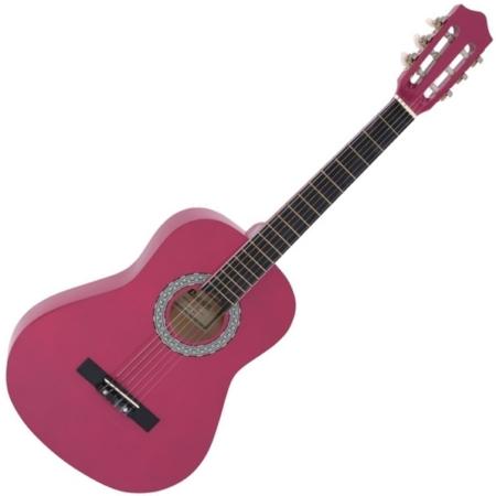 Dimavery - AC-303 3/4-es klasszikus gitár rózsaszín
