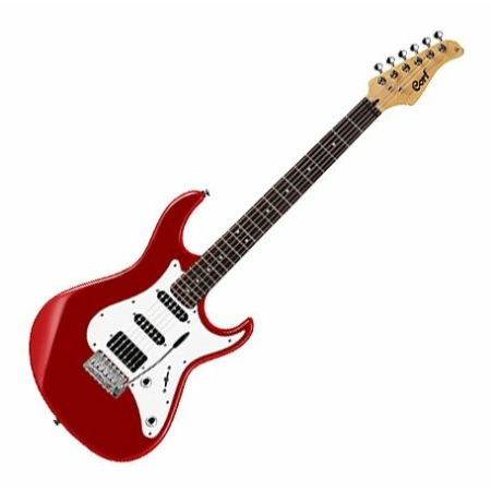 Cort - G220-CAR elektromos gitár vörös
