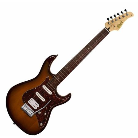 Cort - G260DX-TAB elektromos gitár tobacco sunburst