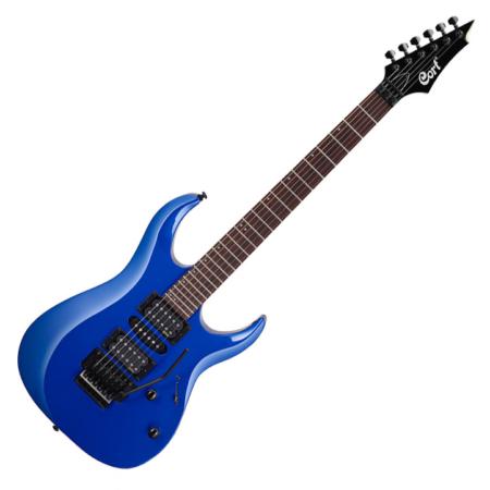 Cort - X250-KB elektromos gitár kék