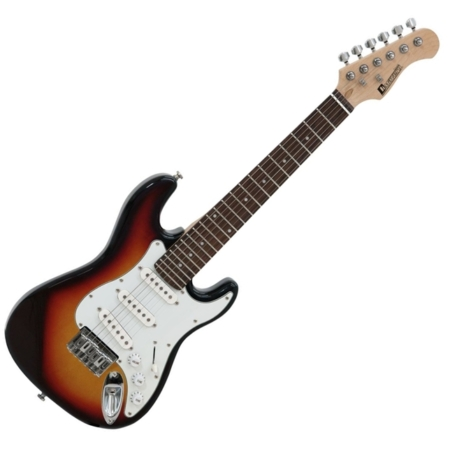 Dimavery - J-350 elektromos gitár 1/2 méret sunburst