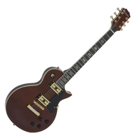 Dimavery - LP 700 elektromos gitár magas fényű méz színben, szemből