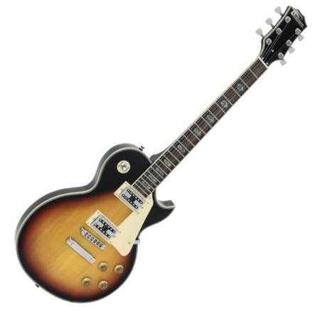 Dimavery - LP-700 elektromos gitár, hordtáskával, sunburst színben