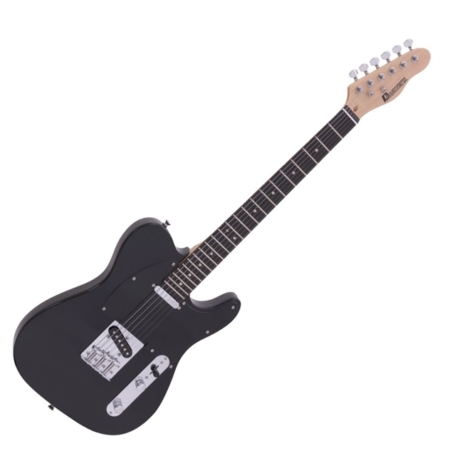 Dimavery - TL-401 elektromos gitár fekete színben