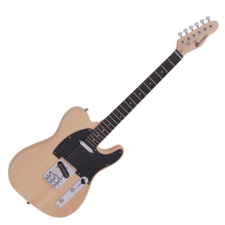 Dimavery - TL-401 elektromos gitár natúr színben