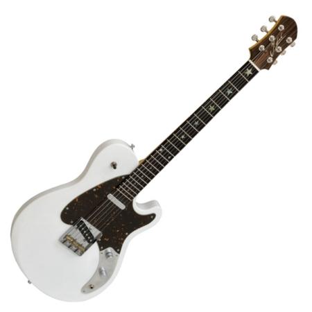 Jozsi Lak - Rough Dynamite elektromos gitár fehér, szemből