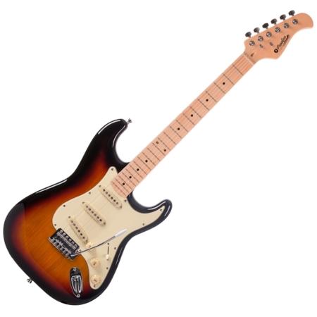 Prodipe - ST80 MA Sunburst elektromos gitár, szemből