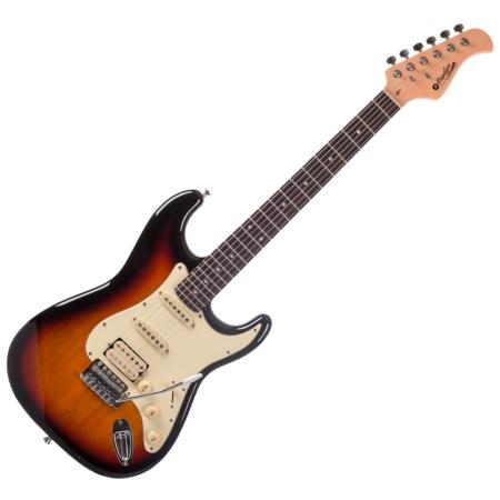 Prodipe - ST83 RA Sunburst elektromos gitár, szemből