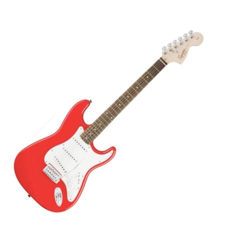 Squier - Affinity Stratocaster Race Red 6 húros elektromos gitár