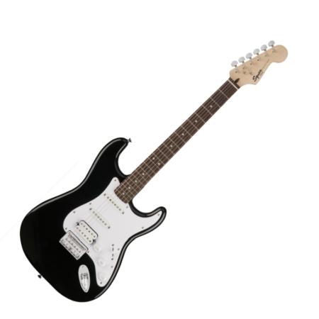 Squier - Bullet Stratocaster HT Black 6 húros elektromos gitár