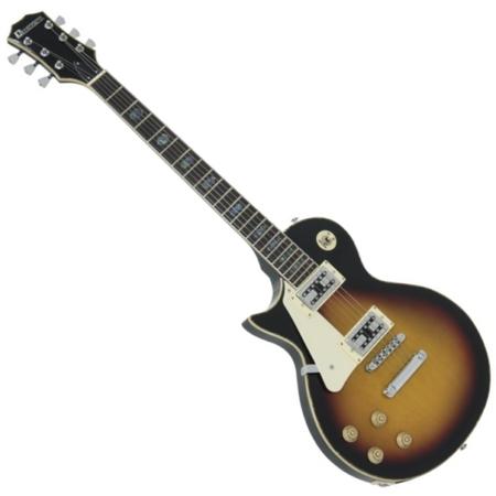 Dimavery - LP-700L balkezes elektromos gitár, hordtáskával, sunburst színben