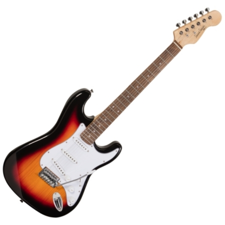 Soundsation - RIDER-STD-S 3TS elektromos gitár sunburst, szemből