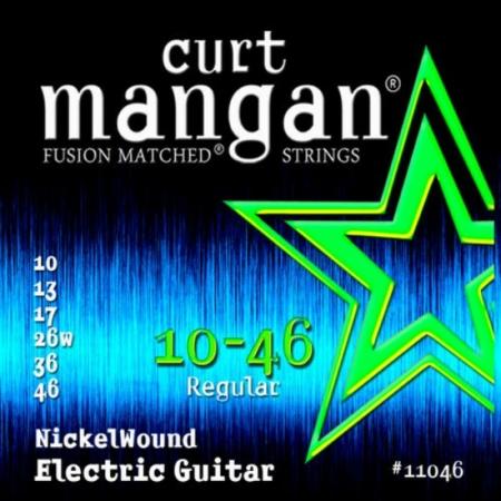 Curt Mangan - Nickel Wound 10-46 Elektromos Gitárhúr készlet