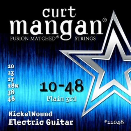 Curt Mangan - Nickel Wound 10-48 Elektromos Gitárhúr készlet